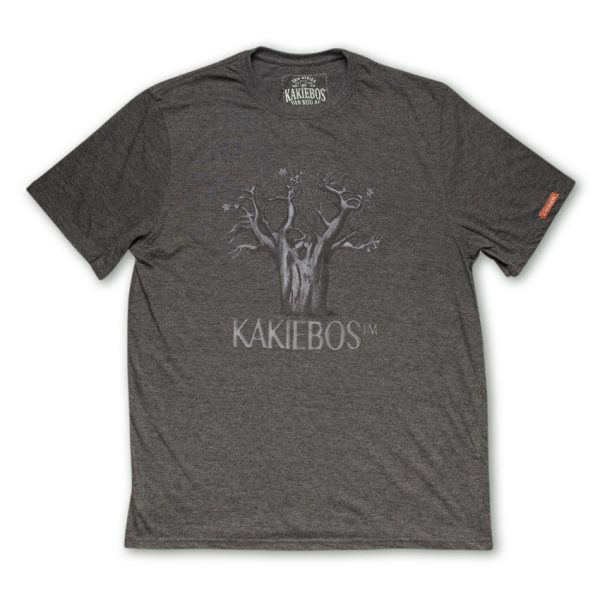 charcoal melange mens t-shirt by kakiebos