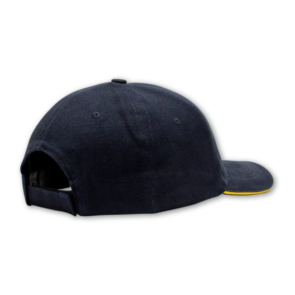 navy back shot of kakiebos mens cap