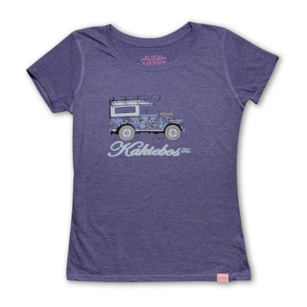 lavender melange clothing ladies t-shirt by kakiebos