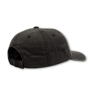 black mens cap back shot